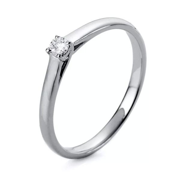 Ring 4er-Krappe 18 kt Weißgold - 1A439W854-1