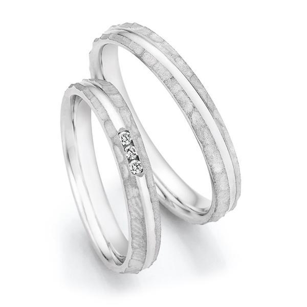 Eheringe Silber 925 Legends 55/33050 & 55/33060