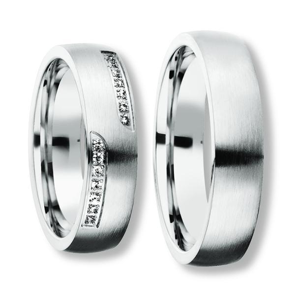 Freundschaftsringe Silber 925 Zirkonia BD 90050