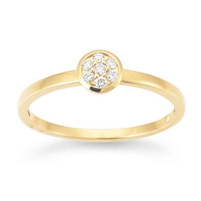 Ring Gelbgold 750 My Diary Brillant S5292G