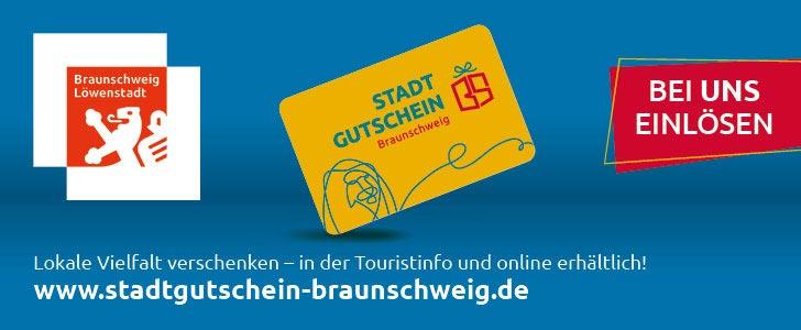 Der Stadtgutschein Braunschweig...