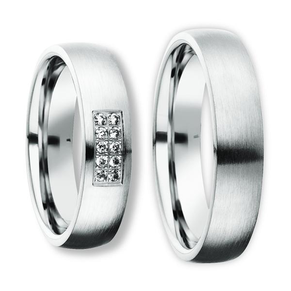 Freundschaftsringe Silber 925 Zirkonia BD 90055