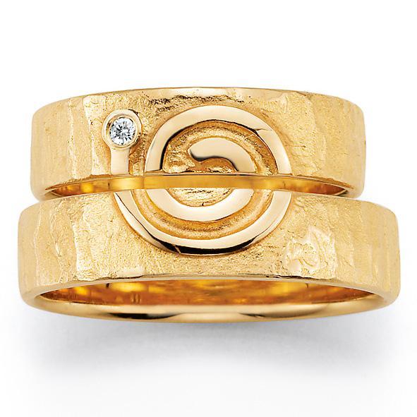 Signs of Love - Spirale / Spiral - Gelbgold