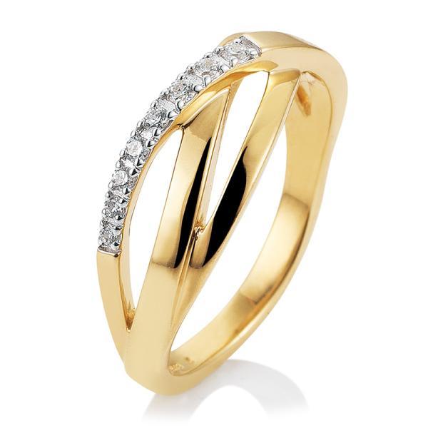 Ring Gelbgold Brillant 41/05699