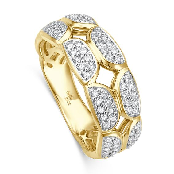 Ring Pietra II Gelbgold EH004530 Brillant