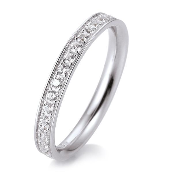 Memore Ring Weißgold TRS05BR659W - Diamantkranz