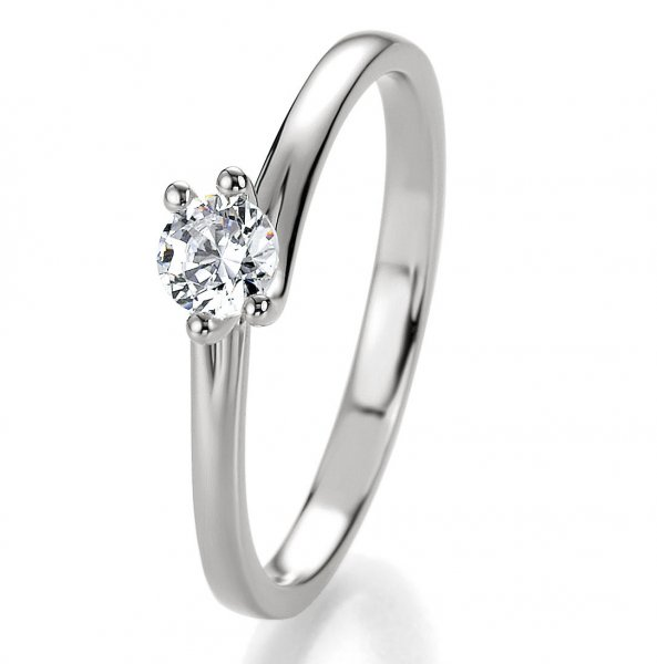 Bridal Antragsring Silber 925 Zirkonia 41/05310