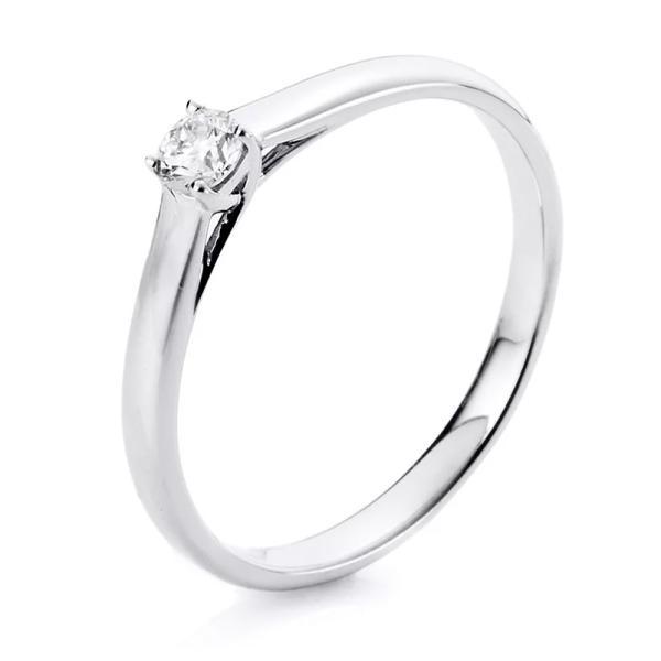 Ring 4er-Krappe 18 kt Weißgold - 1A440W854-7