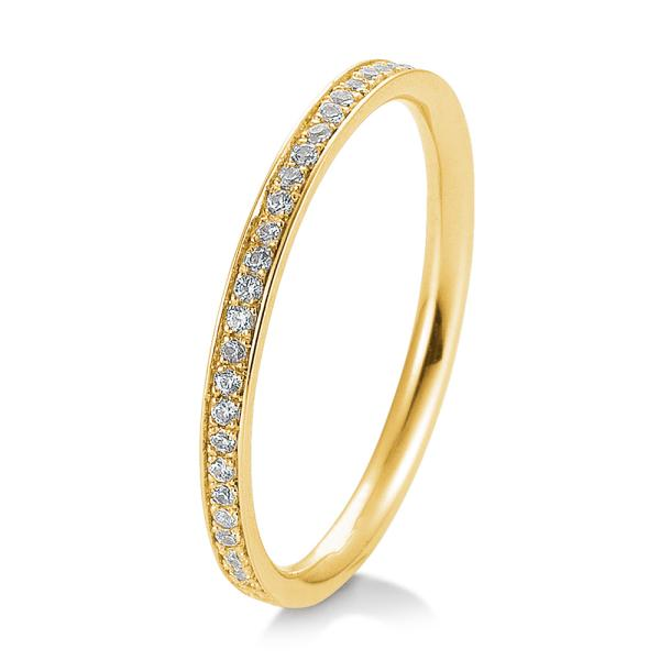 Memoire Ring Weißgold Verschnittfassung TRS05BR643G
