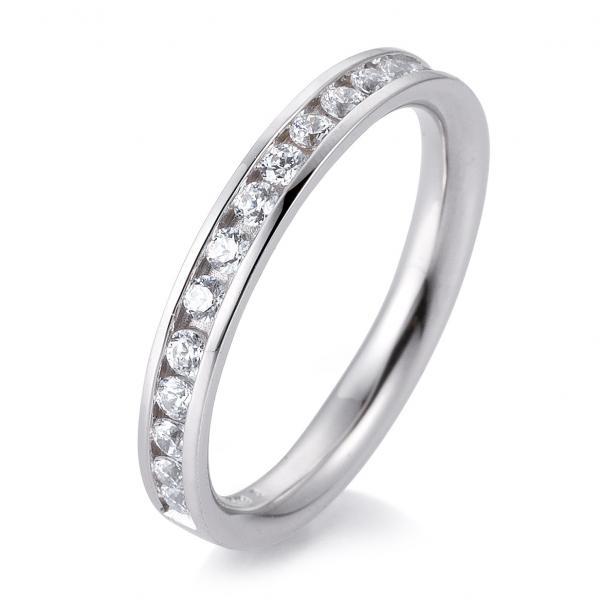 Breuning Alliance-Ring Eternity-Ring Weißgold TRS05BR660W - Diamantkranz