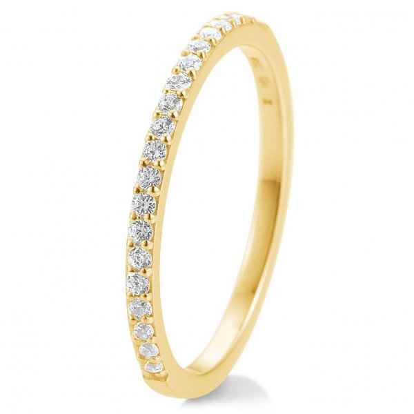 Memoire-Ring Gelbgold 585 Brillant TRS85BR902G - 0.260 ct. w/si