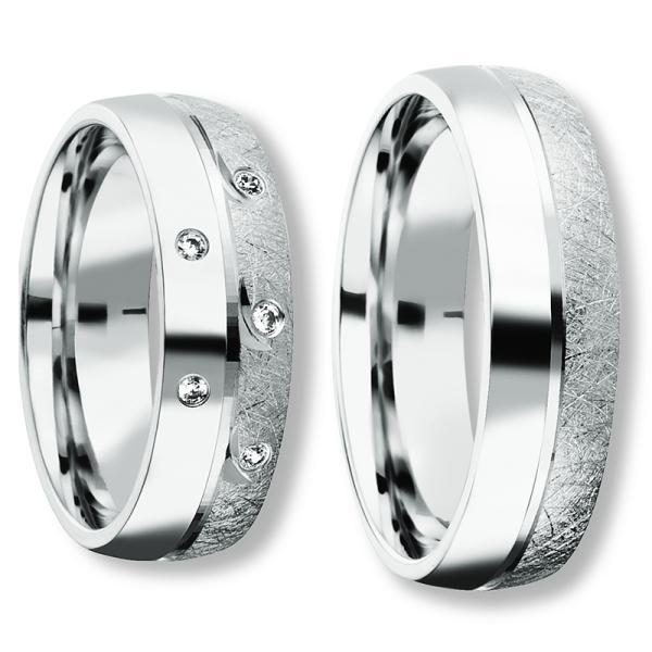 Freundschaftsringe Silber 925 Zirkonia BD 90053