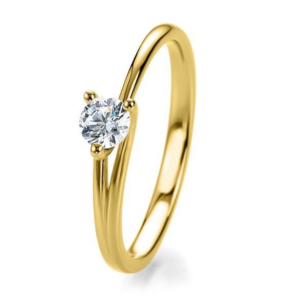 Bridal Antragsring Gelbgold 41/53040