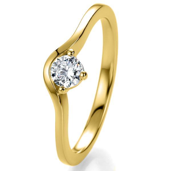 Bridal Antragsring Gelbgold 41/05301