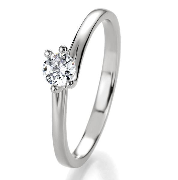 Bridal Antragsring Silber 925 Zirkonia 41/05308