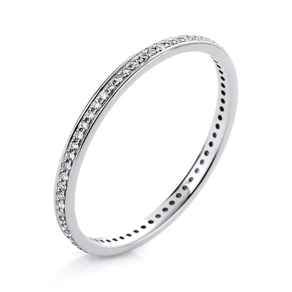 Ring 14 kt Weißgold - 1A426W456-1