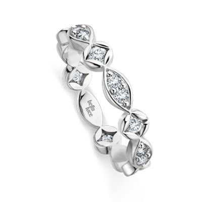 Verlobungsring Aurora Weißgold 585 EH001600