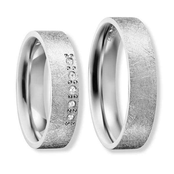 Freundschaftsringe Silber 925 Zirkonia BD 90060