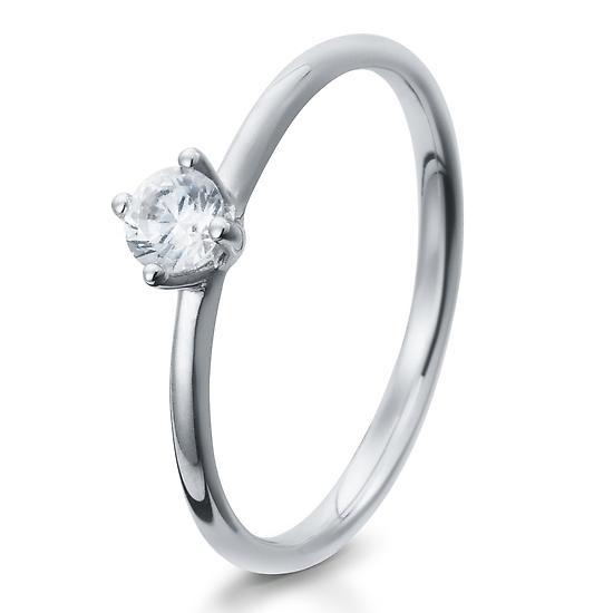Verlobungsring Silber 925 Zirkonia 41/05279