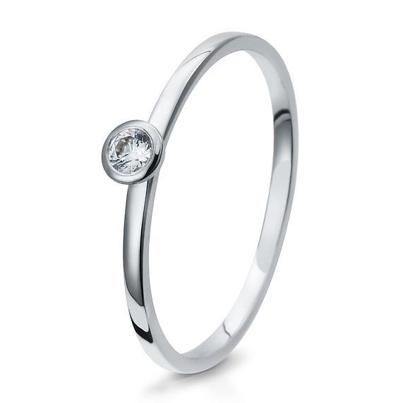 Antragsring Silber mit Zirkonia 41/05290