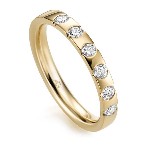 Memoire Ring Gelbgold 585 Brillant GE 29761/3.1