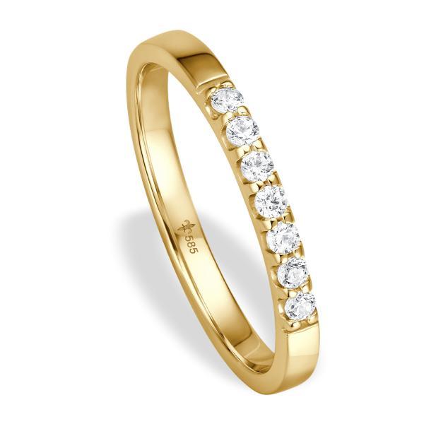 Vorsteckring / Memoire Ring Gelbgold TRS02GI007IFG