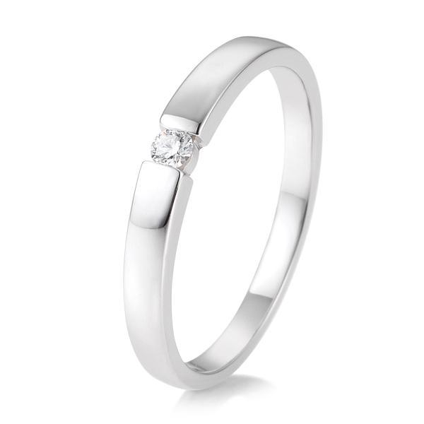 Verlobungsring Weißgold 585 - TRS85BR769W