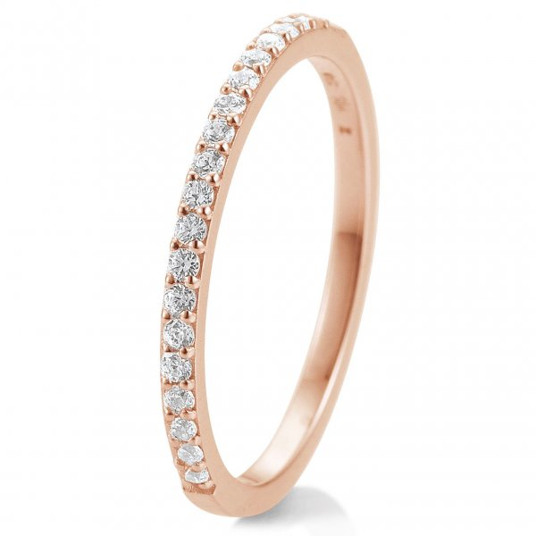 Memoire-Ring Rotgold 585 Brillant TRS85BR902G - 0.260 ct. w/si
