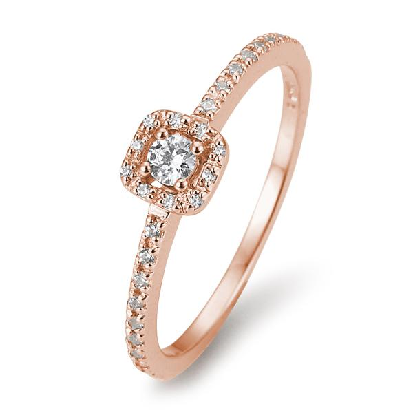 Verlobungsring 41/05802 Rotgold 585