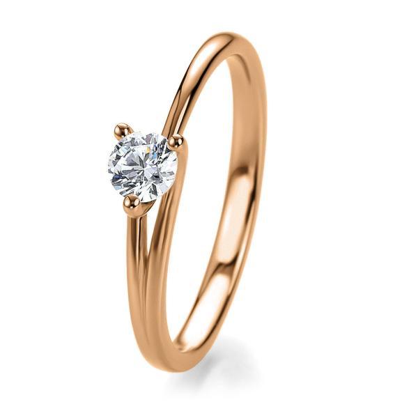 Bridal Antragsring Rotgold 41/53040