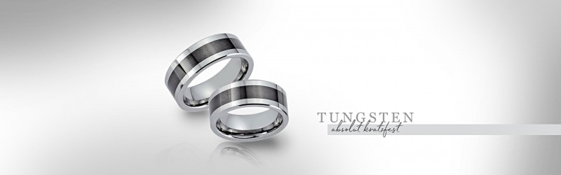 Tungsten Trauringe Wolfram