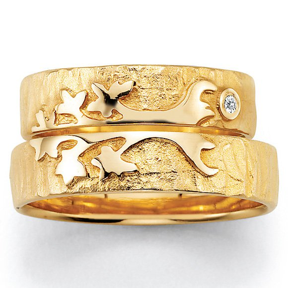 Signs of Love - Lebensbaum / Tree of life - Gelbgold