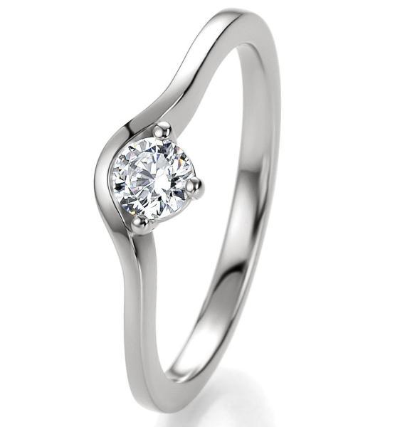 Bridal Antragsring Silber 925 Zirkonia 41/05300