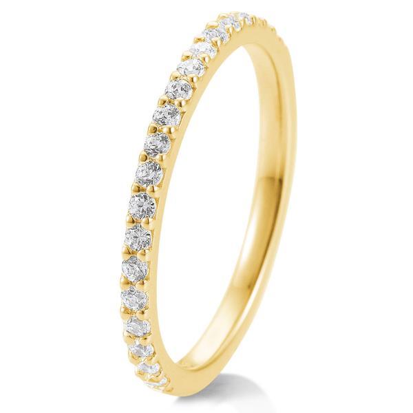 Memoire-Ring Weißgold TRS85BR901G