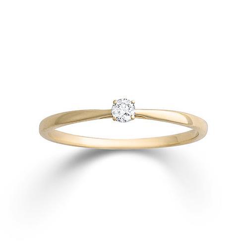 Ring Gelbgold 585 Brillant Palido K11701G