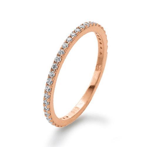 Memoire Ring Rotgold 585 Zirkonia PDO K11284R