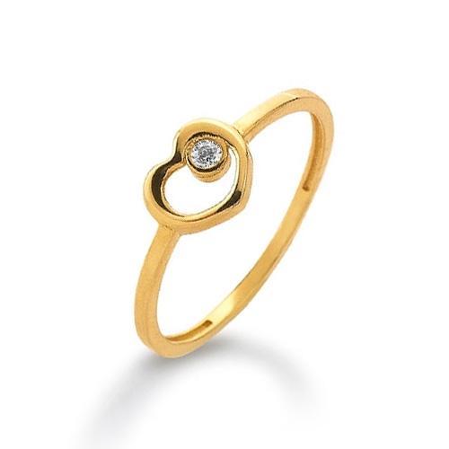 Ring Gelbgold 585 Zirkonia Palido K11293G