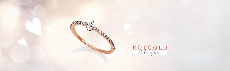 Verlobungsringe Rotgold Antragsringe