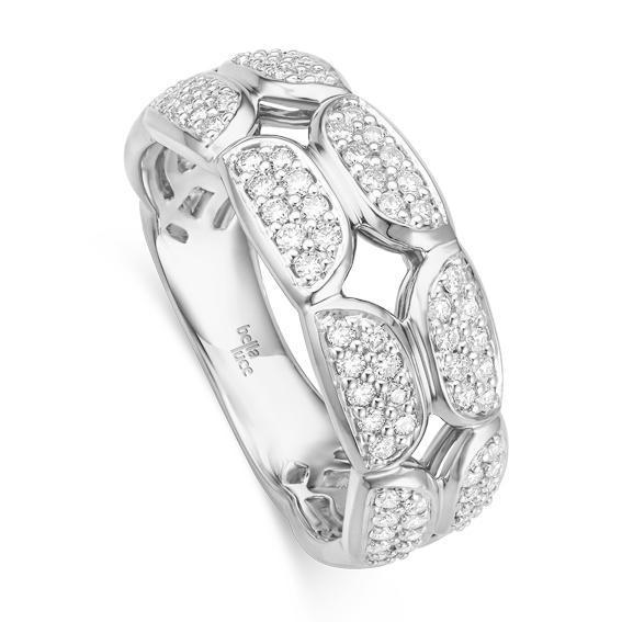 Ring Pietra II Weißgold EH004531 Brillant