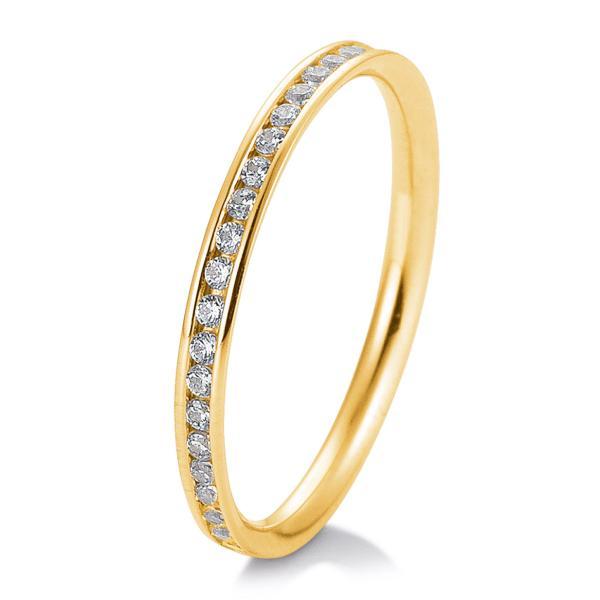 Memoire-Ring Gelbgold TRS05BR644G