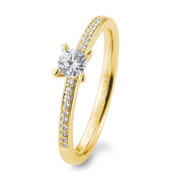Verlobungsring Gelbgold 585