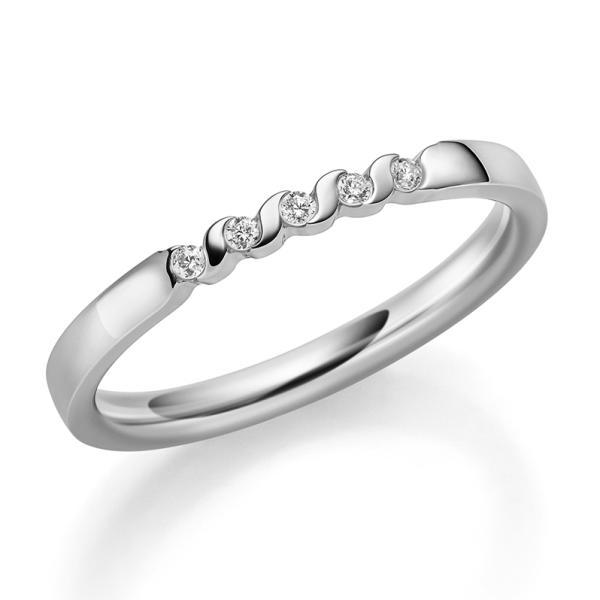 1566-21 Memoire Ring Platin