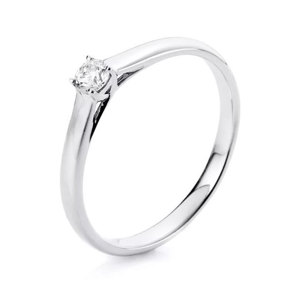 Ring 4er-Krappe 18 kt Weißgold - 1A443W854-1