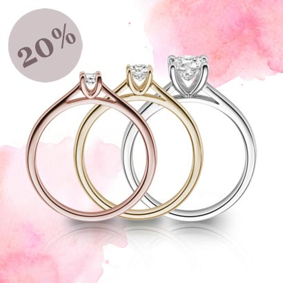 20% Rabatt auf Diamanten