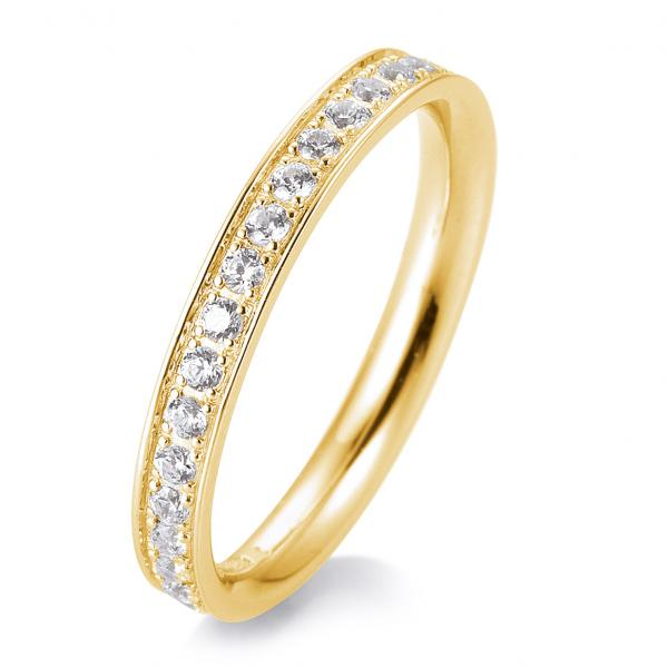 Memoire Ring Gelbgold TRS05BR659G - Diamantkranz