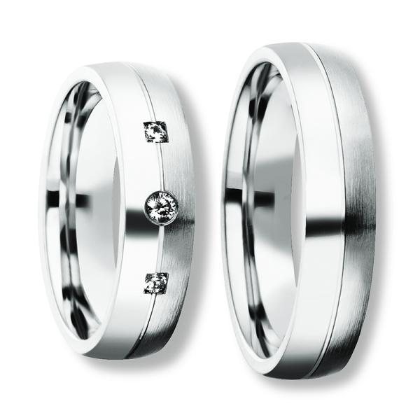 Freundschaftsringe Silber 925 Zirkonia BD 90051