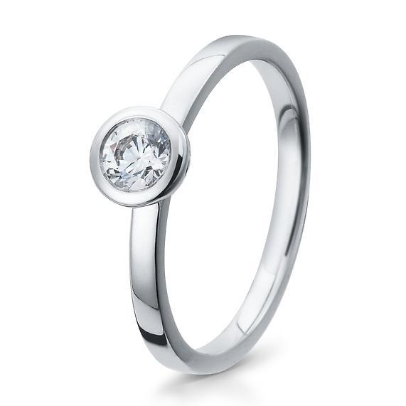Antragsring Silber mit Zirkonia 41/05291