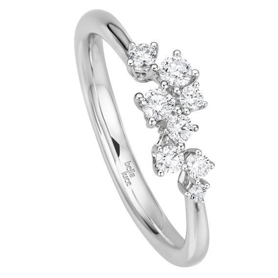 Brillant Ring Giulia Weißgold