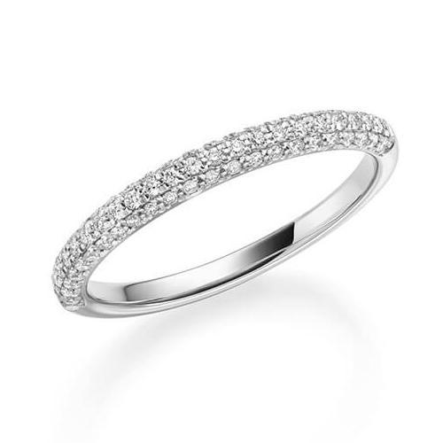1326 Diamantring Weißgold 750