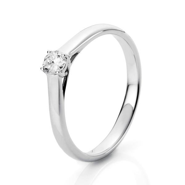 Ring 4er-Krappe 18 kt Weißgold - 1A441W854-1
